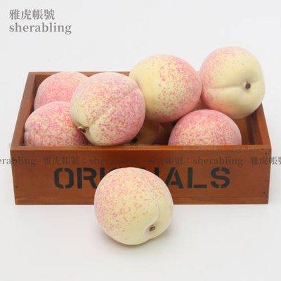 (MOLD-A_103)仿真水果蔬菜假水果食品模型櫥柜擺設逼真仿真加重桃子仙桃水蜜桃
