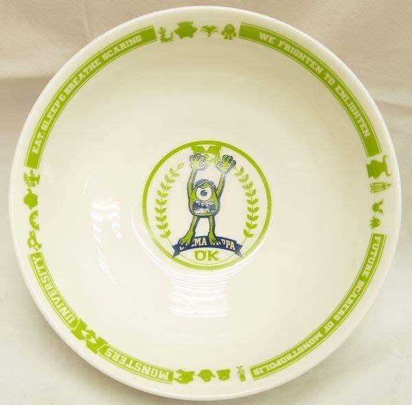 GIFT41 4165本通 三重店 怪獸大學 大眼仔 碗公 泡麵碗 陶瓷湯匙