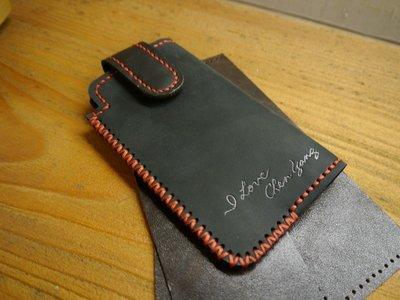 KH手工皮革工作室 MIT台灣製造手工皮件iPhone 11 iPhone11Pro iPhone12Pro手機皮套