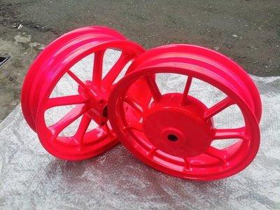 【有間烤漆】機車烤漆螢光色 螢光桃紅輪框烤漆成品只要1500(新勁戰 GTR Fighter  QC BWS )
