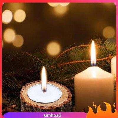 #現貨直出  Natural Stump Tea Light Holder Candleholder-MDI28725