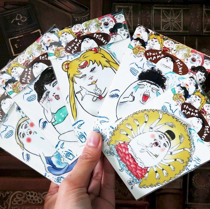 蛋定人生-全系列大防水貼紙(單張)(共103款)