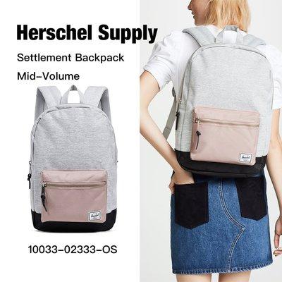 Herschel Settlement Mid 中型 金屬拉鍊 後背包 10033-02333-OS