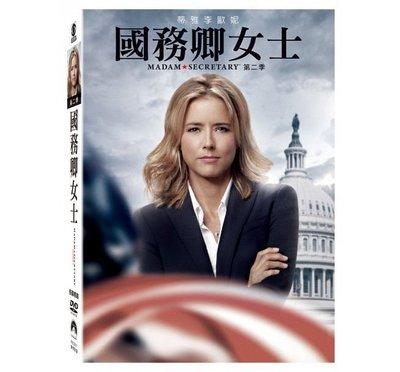 合友唱片 面交 自取 國務卿女士第二季 (6DVD) Madam Secretary Season 2