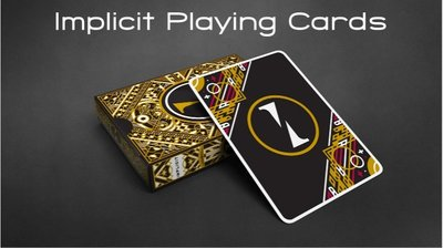 【USPCC撲克】IMPLICIT PLAYING CARDS 神隱牌 S103049578