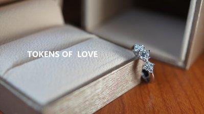 鈿合珠寶精選美鑽0.32克拉鑽石配鑽0.21克拉 如需GIA請洽詢