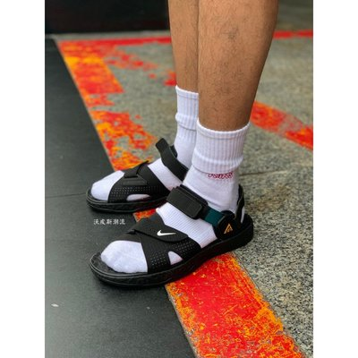 NIKE ACG Deschutz QS 黑紫 機能 涼鞋CT2890-003