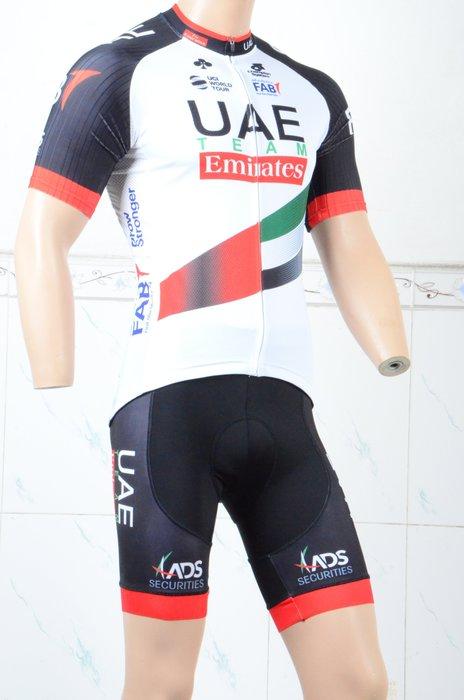 【綠色運動】18UAE自行車衣 腳踏車衣 車衣 車褲 吸濕排汗 萊卡透氣 套裝 XXS-5XL