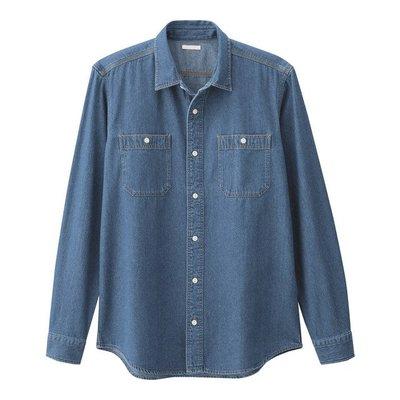 日本 UNIQLO x g.u. GU長袖 工作 牛仔 襯衫 外套 現貨 SIZE:S號  BEAMS,HARE