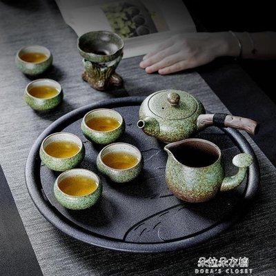 ZIHOPE 茶具套裝功夫茶具套裝家用簡約現代客廳辦公日式茶壺茶杯套裝干泡陶瓷ZI812