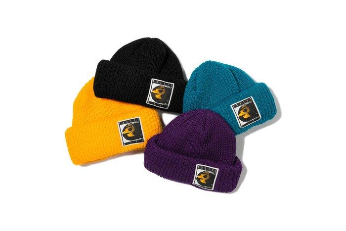 { POISON } PRETTYNICE CHALLENGE WATCH CAP BEANIE 美國製針織反摺短毛帽