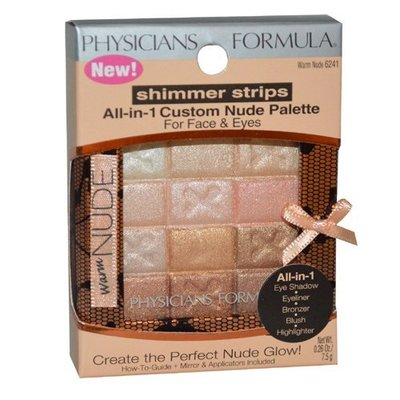 Physicians Formula Shimmer Strips AIO Custom Nude Palette