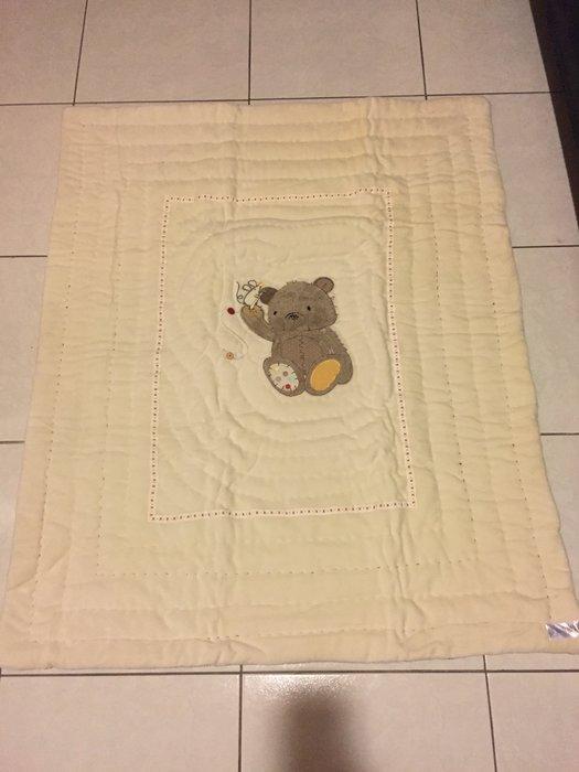 英國 Mothercare 毛毯 兒童線毯抱毯蓋毯貼身蓋棉毯夏季空調被嬰兒針織被透氣棉被冷氣被推車蓋被棉被