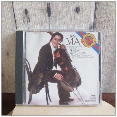 二手CD 馬友友 海頓 大提琴協奏曲第一、二  Yo-Yo Ma Haydn Cello Concertos [玩泥巴]