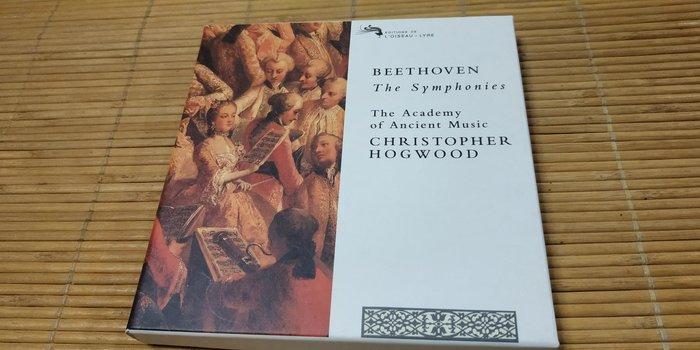 好音悅 半銀圈 Hogwood 霍格伍德 Beethoven 貝多芬 交響曲全集 古樂學會樂團 5CD DECCA 德版