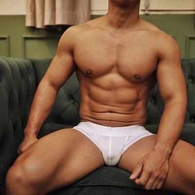 LIN韓國**【NOBLEST】【SIR】網孔內褲男士平角褲夏季透氣莫代爾性感青年潮