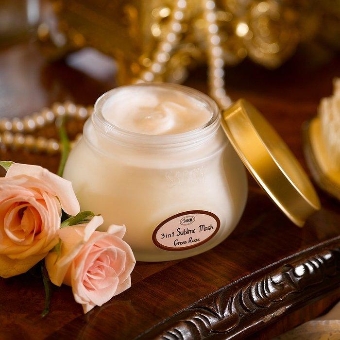 香氛 ◎以色列 SABON 綠玫瑰 茉莉 三合一修護髮膜 護髮 潤髮 真品 正貨