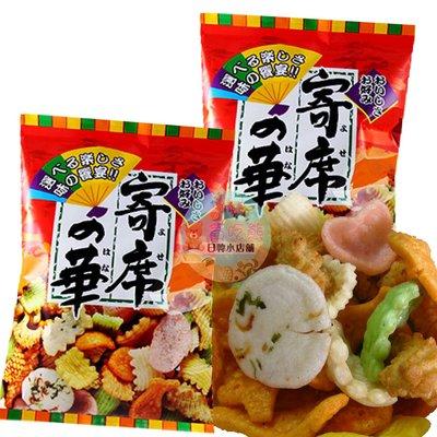 *貪吃熊*日本 神田製菓 綜合仙貝 寄席之華 海鮮綜合仙貝 綜合海鮮米果 米果 仙貝 海鮮餅 日本仙貝 蝦餅