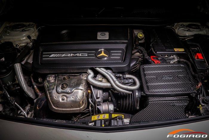 ☆光速改裝精品☆Fogiago BENZ A45/Cla45/Gla45 2.0T 碳纖維進氣套件