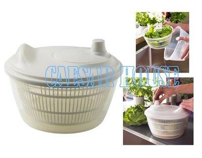 ╭☆凱薩小舖☆╮【IKEA】 TOKIG 蔬菜沙拉水果脫水器/TOKIG 蔬果沙拉脫水器 (白色) 輕鬆瀝乾蔬菜
