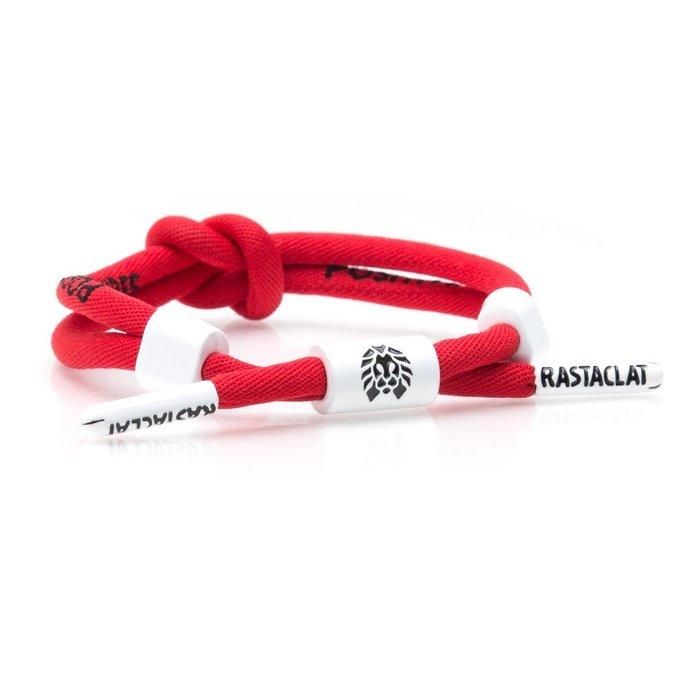 【Brand T】RASTACLAT POSITIVE VIBES 紅色*鞋帶*手環*雷獅特*衝浪*頑童*MJ116
