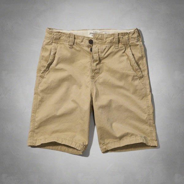 "【BJ.GO】A&F CLASSIC FIT SHORTS A&F經典剪裁短褲/休閒短褲新品現貨36"""