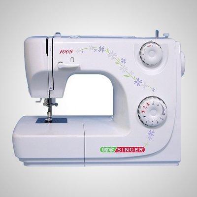 【小如的店】COSTCO好市多線上代購~SINGER 勝家自動穿針縫紉機-贈拷克布邊器(1009)