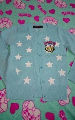 日本童裝 EARTHMAGIC 針織外套&短裙~120CM組套