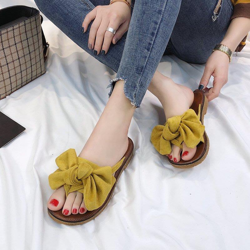 時尚外穿拖鞋女季新款韓版百搭室外平底沙灘涼拖外出人字拖