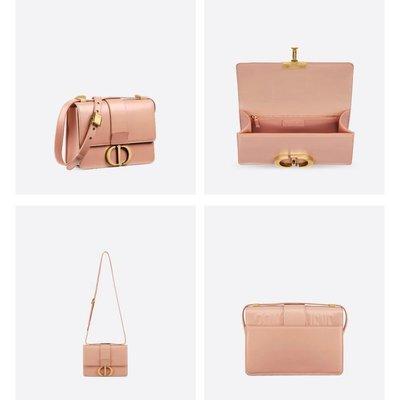 全新正品 DIOR 蒙田包 30 Montaigne Dior Oblique 原色白色 小牛皮款 翻蓋式包款