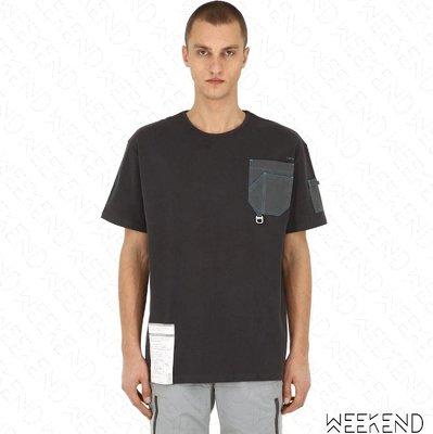 【WEEKEND】 C2H4 Workwear Chemist 化學製品 短袖 上衣 T恤 灰色
