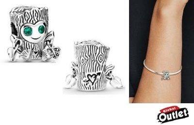 【全球購.COM】PANDORA 潘朵拉 鑲鑽新款可愛樹精串珠 925純銀 美國正品代購