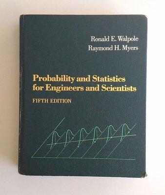 【書香傳富】Probability and Statistics for Engineers and Scientist
