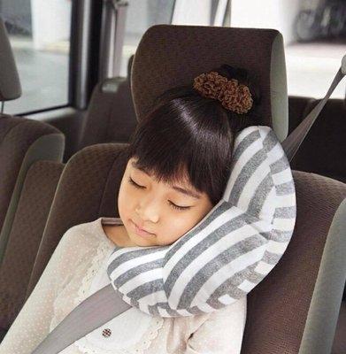 ˙TOMATO生活雜鋪˙日本空運直送點點圖雙色安全帶魔鬼沾黏貼靠枕 月亮枕大人小孩皆可用(預購)