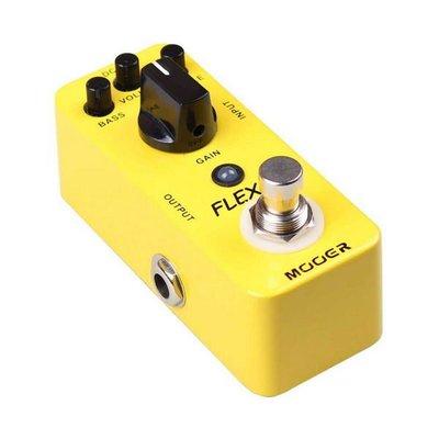 ☆ 唐尼樂器︵☆ Mooer Micro Series FLEX Boost 迷你木吉他/電吉他/電貝斯 Bass 增益效果器