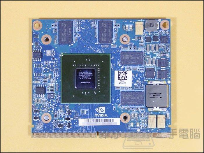 【樺仔二手電腦】NVIDIA GeForce GT 425M 1G DDR3 筆記型電腦顯示卡 GT425M 筆電顯卡