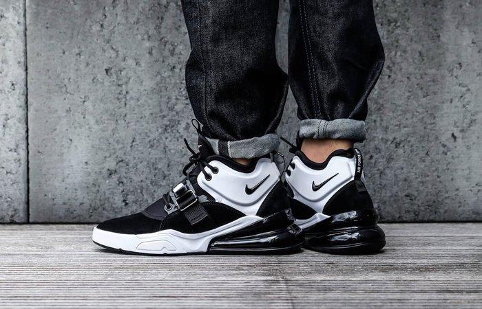 【Cheers】 Nike Air Force 270 Black White AH6772-006 黑白 男款 氣墊鞋