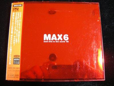 【198樂坊】MAX6 best in the world '99(Canned Heat...日版)CH