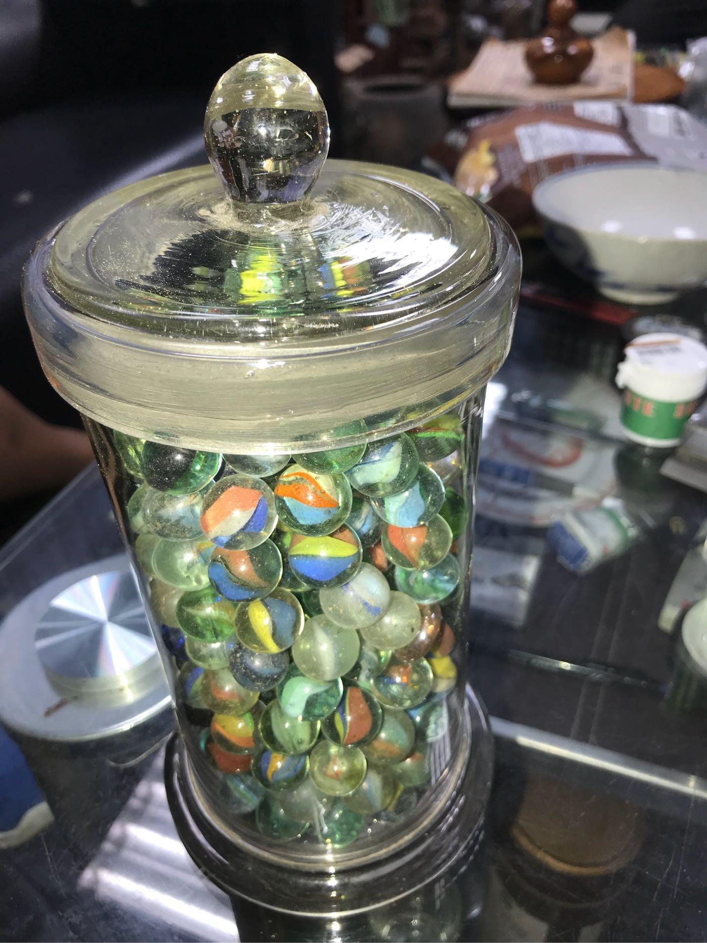 中藥罐+彈珠