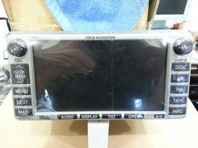 TOYOTA  原廠 WISH CAMRY VIOS ALTIS頂級富士通觸控式DVD/MP3螢幕主機(2手最後一台)