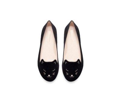 ZARA 貓咪女童鞋