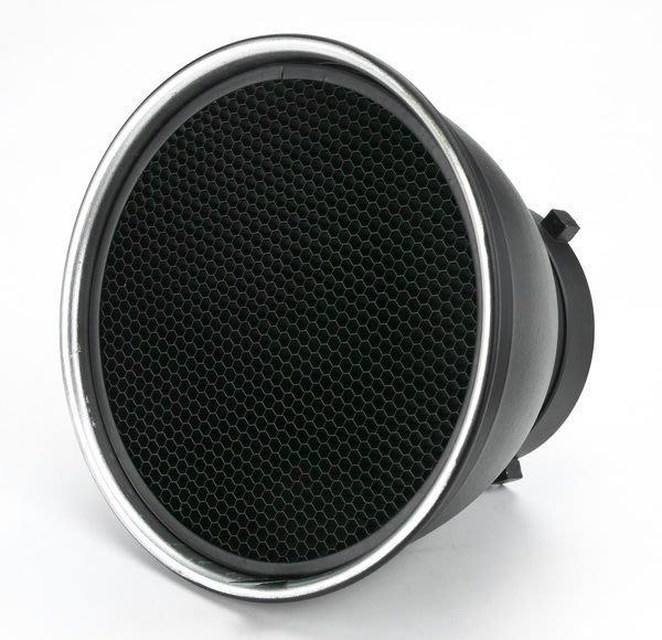呈現攝影-18cm 蜂巢罩 4x4+6x6 標準罩專用 全金屬 可上棚燈 L型傘座+標準罩組可用 離機閃