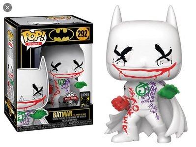 BEETLE FUNKO POP DC BATMAN  蝙蝠俠 THE JOKER IS WILD 80周年 EE限定