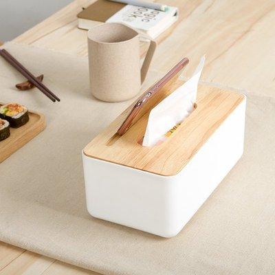 簡約 橡木蓋 手機架 面紙盒 抽取式 面紙 餐巾紙 衛生紙 盒 收納 置物 居家 iphone .【RS617】