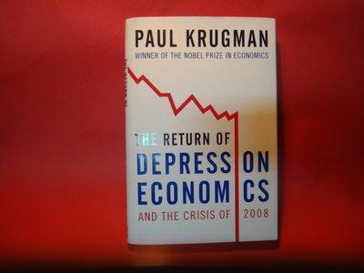 【愛悅二手書坊 07-27】The return of  depress on Economcs