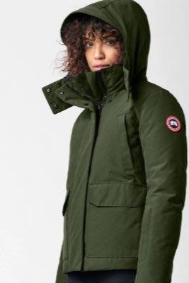 [預購] 美加空運 保證正品 Canada Goose Blakely Parka 頂級防風短版羽絨外套顯瘦軍綠