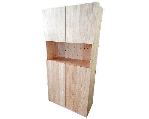 【森林原木手工家具】原木櫥櫃