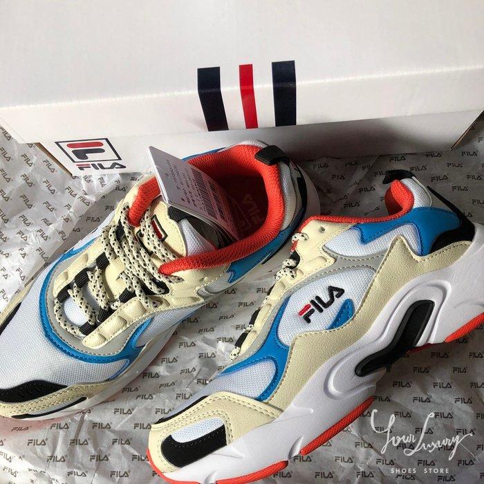 【Luxury】FILA FS1SIA3122X_GRN 天藍紅 厚底增高 老爹鞋 老爸鞋 四色   M2K Tekno