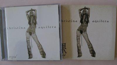 【鳳姐嚴選二手唱片】 Christina Aguilera / 裸 STRIPPED (紙品包裝)