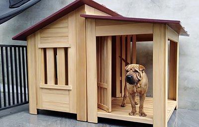 大型狗屋設計製作,老麥狗屋老字號。